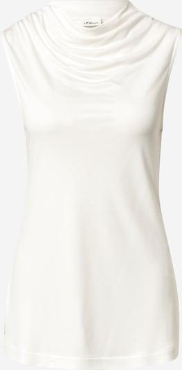 s.Oliver BLACK LABEL Top in de kleur Wit, Productweergave