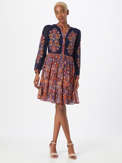 Derhy Kleid 'TADORNE' in dunkelblau / mischfarben / rot, Modelansicht