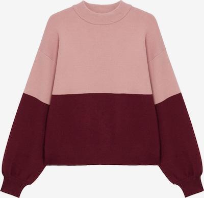 MANGO Pullover 'Miro' in rosa / weinrot, Produktansicht