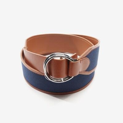Lauren Ralph Lauren Taillengürtel in XL in blau / cognac, Produktansicht