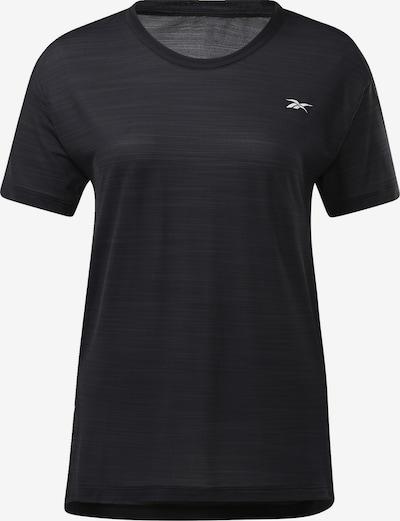 REEBOK Shirt in de kleur Zwart: Vooraanzicht