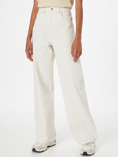 Gina Tricot Jeans 'Idun' in white denim, Modelansicht