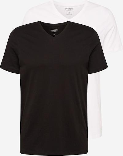 BURTON MENSWEAR LONDON Shirt in schwarz / weiß, Produktansicht