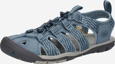 KEEN Sandale en bleu fumé / bleu-gris, Vue avec produit