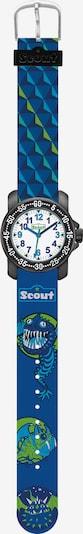 SCOUT Uhr in navy / grün / schwarz / weiß, Produktansicht