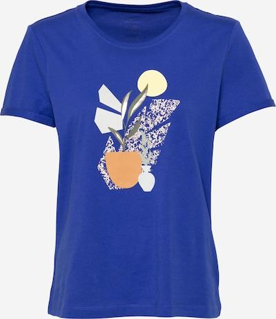 TOM TAILOR T-Shirt in cyanblau / mischfarben, Produktansicht
