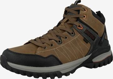 Boots Dockers by Gerli en marron