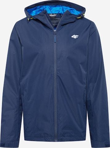 Veste outdoor 4F en bleu