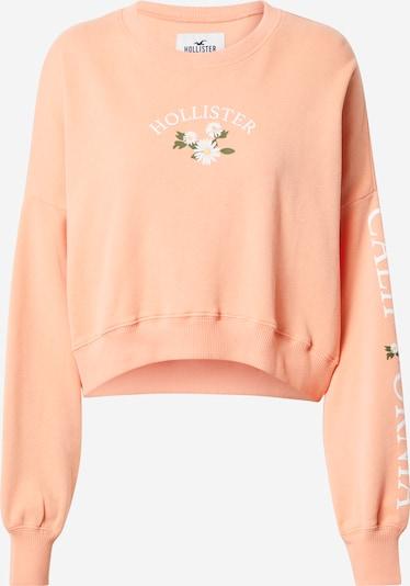 HOLLISTER Sweatshirt in hellgelb / grün / koralle / weiß, Produktansicht