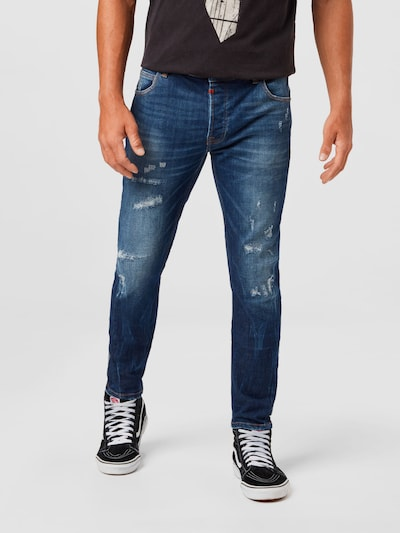 tigha Jeans 'Billy' in dunkelblau, Modelansicht