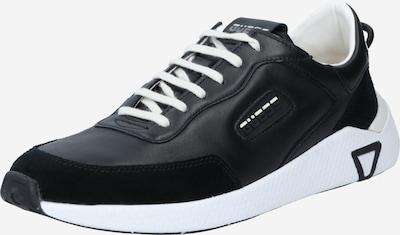 GUESS Trampki niskie 'MODENA' w kolorze czarny / białym, Podgląd produktu