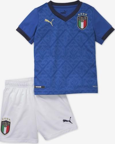 PUMA Trainingsanzug 'ltalia' in blau / dunkelblau / hellgrün / mischfarben / weiß, Produktansicht