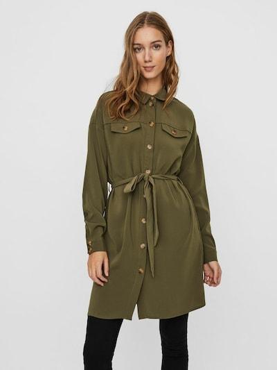 VERO MODA Hemdkleid in grün, Modelansicht