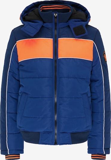 Petrol Industries Winterjacke in blau / orange / weiß, Produktansicht