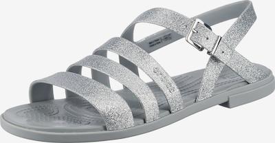 Crocs Crocs Tulum Glitter Sandal W Riemchensandalen in silber, Produktansicht