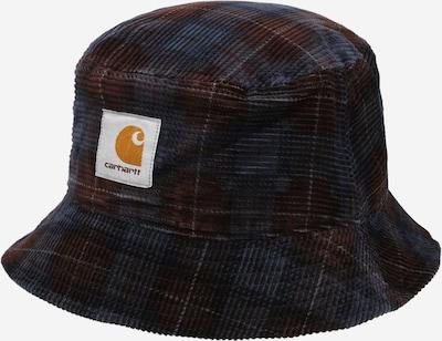 Pălărie Carhartt WIP pe albastru / maro / galben muștar / alb, Vizualizare produs