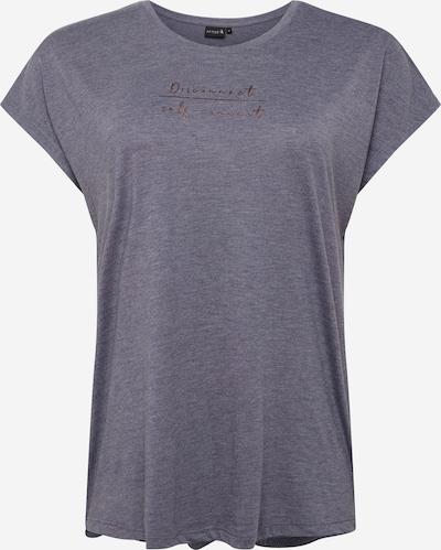 Sportiniai marškinėliai 'Arina' iš Active by Zizzi , spalva - pilka, Prekių apžvalga