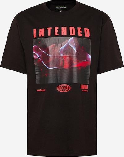 Urban Threads T-Shirt en rouge / noir / blanc, Vue avec produit