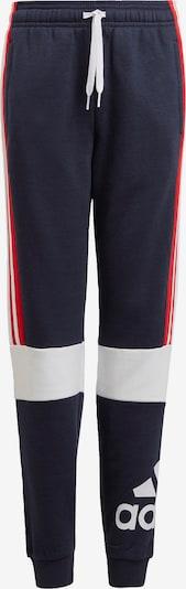 ADIDAS PERFORMANCE Sporthose in nachtblau / rot / weiß, Produktansicht