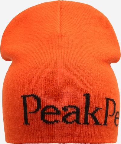 PEAK PERFORMANCE Sportmütze in orange / schwarz, Produktansicht