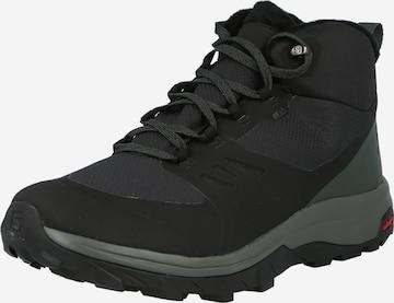 Boots 'OUTsnap CSWP' SALOMON en noir