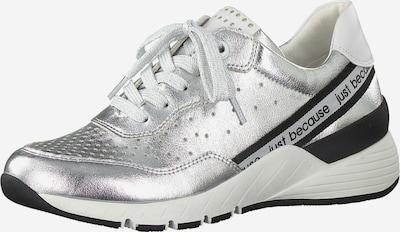 MARCO TOZZI Sneaker in schwarz / silber, Produktansicht