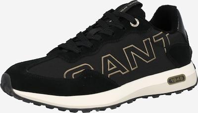 GANT Baskets basses 'Ketoon' en marron / noir, Vue avec produit