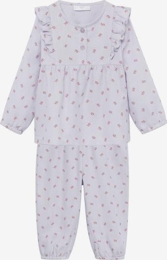 MANGO KIDS Pyžamo 'Annieb' - levanduľová / pastelovo červená, Produkt
