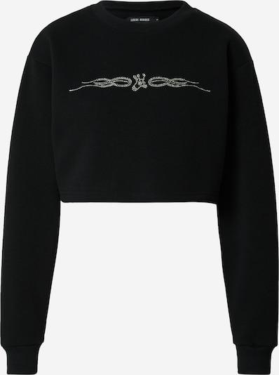 LOCAL HEROES Sweat-shirt en noir, Vue avec produit