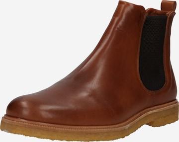 ROYAL REPUBLIQ Chelsea Boots i brun