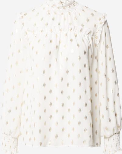 Dorothy Perkins Pusero 'Ivory' värissä kulta / valkoinen, Tuotenäkymä