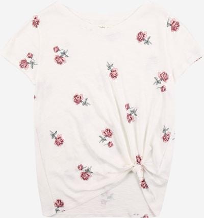 Abercrombie & Fitch T-Shirt in tanne / rot / weiß, Produktansicht