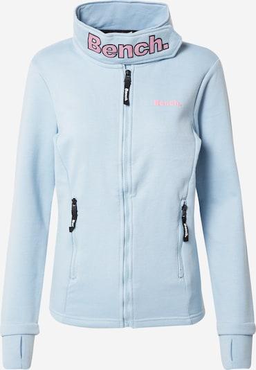 Flisinis džemperis 'HAYLO' iš BENCH, spalva – šviesiai mėlyna / šviesiai rožinė, Prekių apžvalga