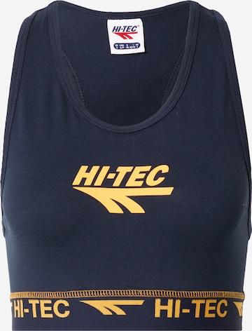 HI-TEC Sports-BH 'DENT' i blå
