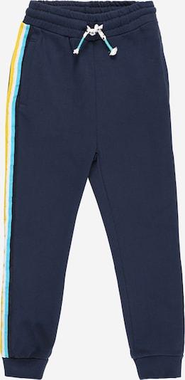 KANZ Kalhoty - světlemodrá / tmavě modrá / žlutá / bílá, Produkt