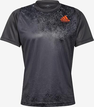 ADIDAS PERFORMANCE T-Shirt in anthrazit / hellgrau / weiß, Produktansicht