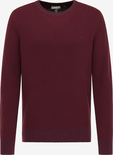 DreiMaster Vintage Pullover in weinrot, Produktansicht