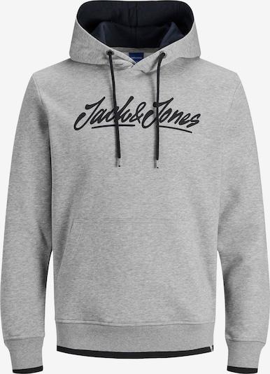 JACK & JONES Sweatshirt 'Jorlegend' in navy / graumeliert, Produktansicht