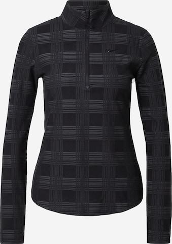 juoda NIKE Sportiniai marškinėliai