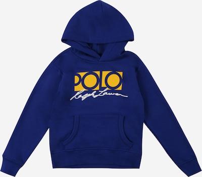 POLO RALPH LAUREN Sweat en bleu / jaune, Vue avec produit