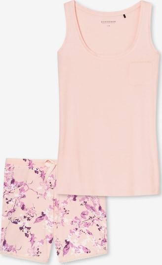 SCHIESSER Schlafanzug ' 'Soul' ' in rosa, Produktansicht