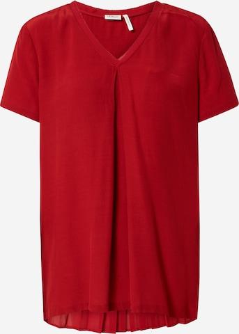 s.Oliver BLACK LABEL Bluse i rød