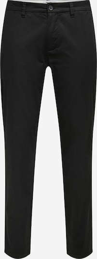 Pantaloni chino Only & Sons di colore nero, Visualizzazione prodotti