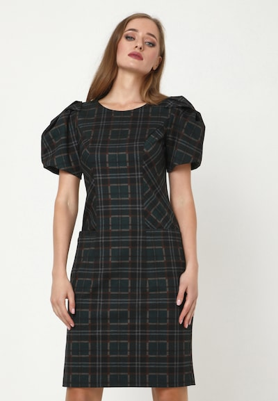 Madam-T Kleid 'ANGELICA' in mischfarben, Modelansicht