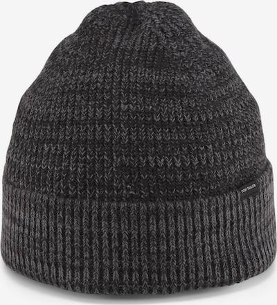 TOM TAILOR Mütze in grau / graumeliert, Produktansicht