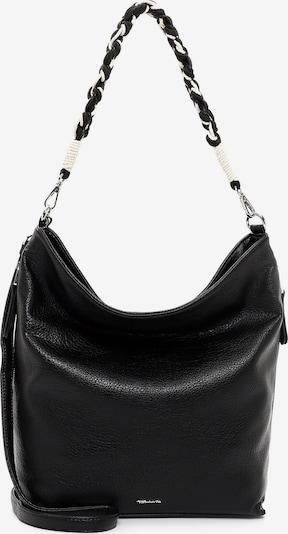 TAMARIS Shoulder Bag 'Dunja' in Black / White, Item view
