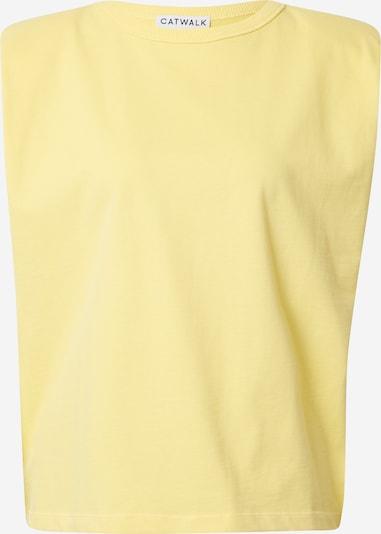 CATWALK JUNKIE Top 'VERA' in gelb, Produktansicht