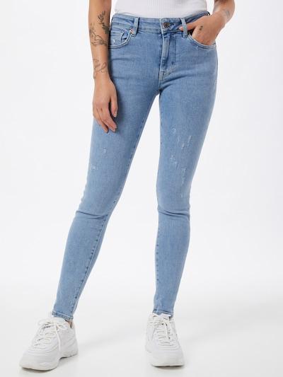 Superdry Jeans in de kleur Blauw denim, Modelweergave