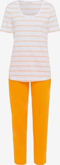 Hanro Pyjama ' Laura ' in de kleur Geel, Productweergave