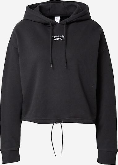 Reebok Classic Sweatshirt in de kleur Zwart / Wit, Productweergave